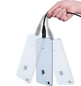 Магнітний Кабель PZOZ Для Iphone 1 метр Чорний