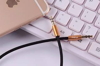 Аудіо кабель AUX MEIYI MY-301 0,5 m, фото 3