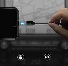 Магнітний Кабель FONKEN USB - Type-C 3A 1 Метр Чорний, фото 3