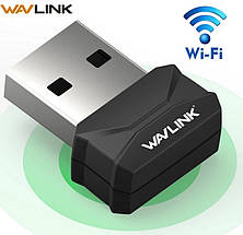 USB-WiFi адаптер WAVLINK 150 Мбит/с оригинал (WN687S1), фото 2