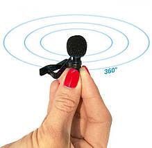 Петличний мікрофон 3.5 мм mini-jack SHELKEE, фото 2