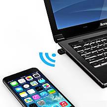 Bluetooth-адаптер Orico aptX передатчик/приемник bluetooth 4.0 для ноутбука, пк (черный), фото 3