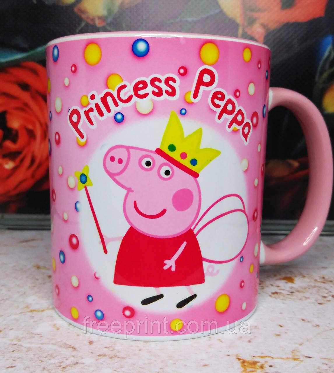 """Детская чашка """"Принцесса Пеппа"""""""