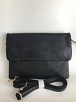 Черный женский клатч сумочка через плечо Pretty Woman