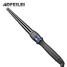 Конусная профессиональная плойка для завивки локонов AOFEILEI диаметром 25 мм, фото 3