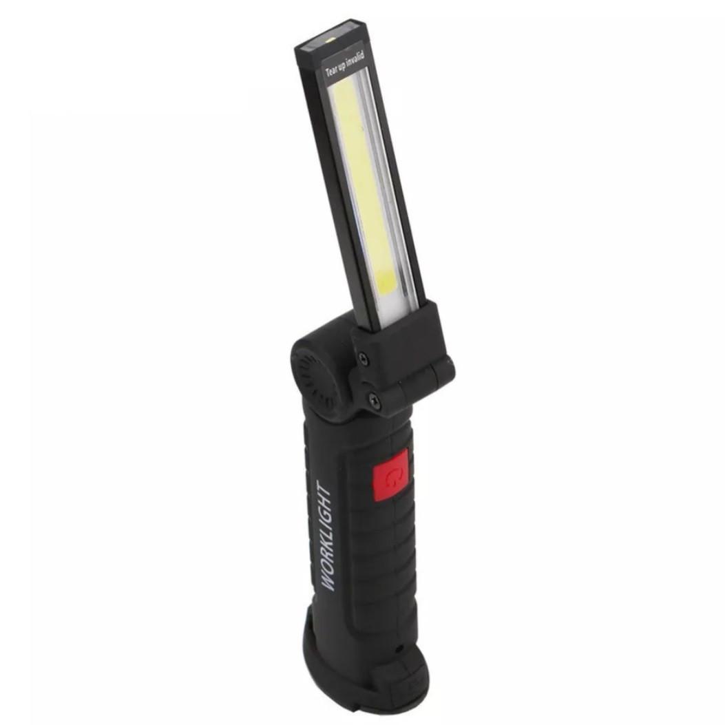 Портативный светодиодный фонарик Coquimbo с магнитом в основании и подзарядкой от сети