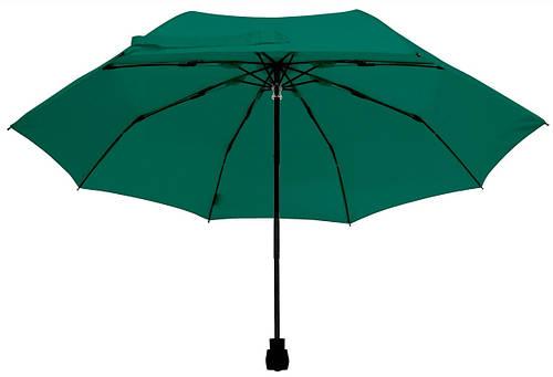 Оригинальный механический складной зонт EuroSCHIRM Light Trek 3029330C/SU17741 зеленый