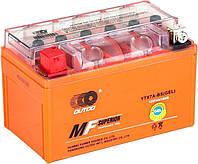 Аккумулятор Outdo (Аутду) Moto 12v 7A Ytx7A-BS MG7L-BS GEL Shineray, Geon, X-Road 200 250, Benelli, Viper VXR