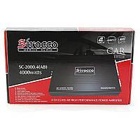 Автомобильный усилитель CAR AMP SC-2000 4000W