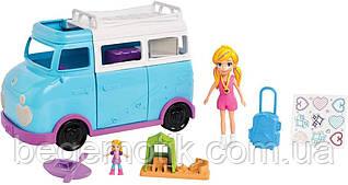 Игровой набор Полли Покет Дом на колесах с куклой (FTP74) Polly Pocket Glamping Van