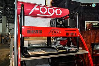 Бензиновый генератор Fogo FH 7001 E (6 кВт, стартер)