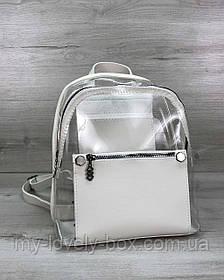 Рюкзак «Бонни» белый силиконовый