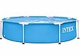 Каркасний Басейн Intex 28205 (244 x 51 см) круглий 3-х шаровий ПВХ, фото 2