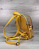 Рюкзак  «Бонни» силиконовый желтый, фото 2