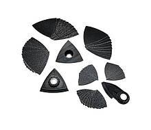 Набор принадлежностей для шлифования в углах и на кромках, 63 шт