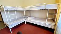 Двухъярусная металлическая кровать Relax Duo-1 (Релакс Дуо-1) Метакам 80х200, Двухъярусная, Белый