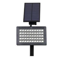 Садовый фонарь 48 Led светильник на солнечной батарее