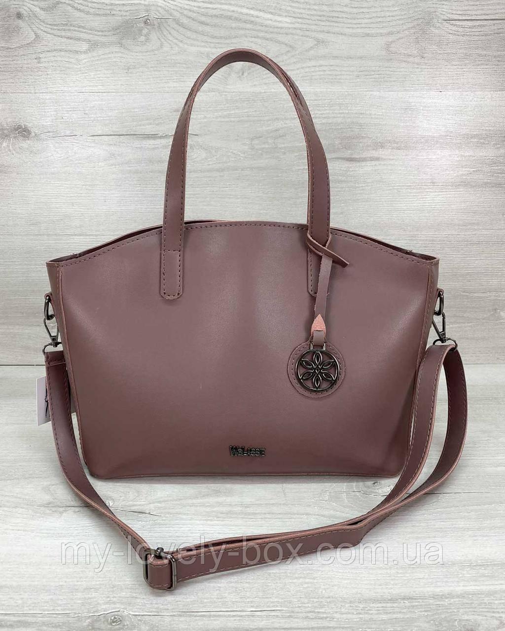 Жіноча сумка «Сью» лілова