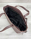 Жіноча сумка «Сью» лілова, фото 5
