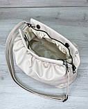 Женская сумка «Vivian» молочная, фото 3