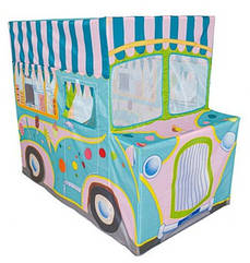 Намет MR 0377 (6шт) машина,кафе-морож, 118-70-99см,1вх на зав'язках,вікно-сітка,в кор-ке,50-15,5-8см