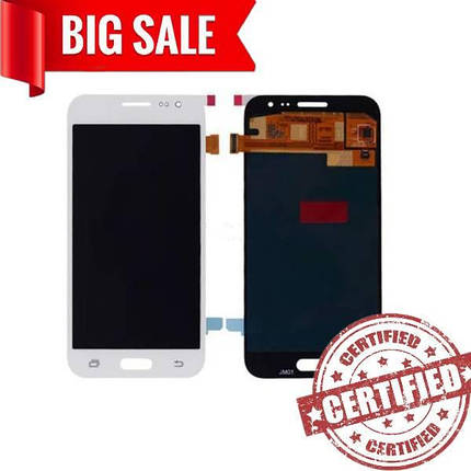 LCD Samsung J200 Galaxy J2 with touch screen white (TFT), фото 2