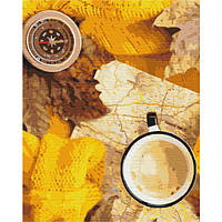 Картина по номерам Флетлей осеннего путешественника 40х50 (Без коробки) расскраска по номерам
