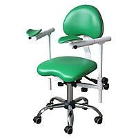 Крісло лікаря-стоматолога для роботи з мікроскопом, стілець стоматолога ENDO SLIDE DService