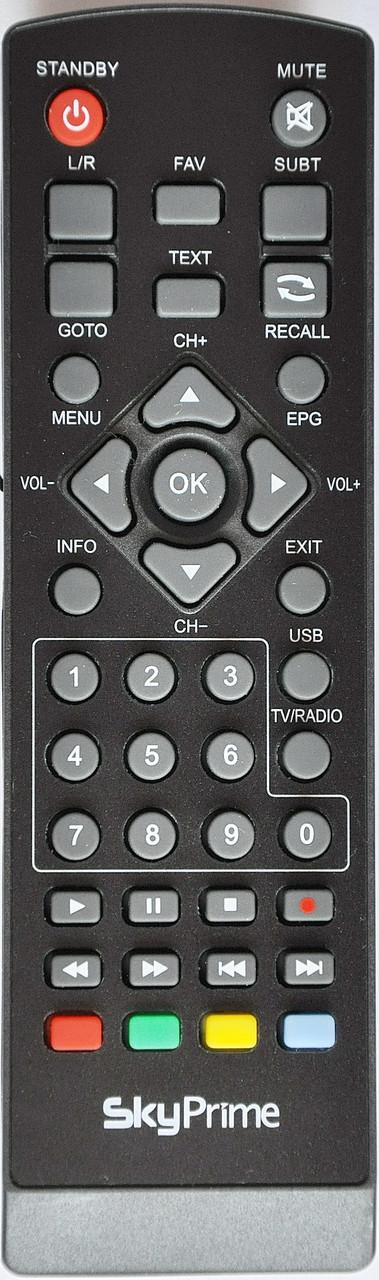Пульт от тюнера эфирного цифрового телевидения  Sky Prime VT2