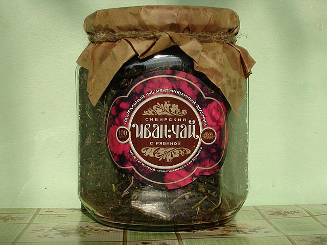 Иван-Чай с рябиной красной, 100 гр.