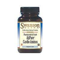 Аминокислоты для сердца Лизин Пролин Аргинин Таурин Swanson, 60 капсул