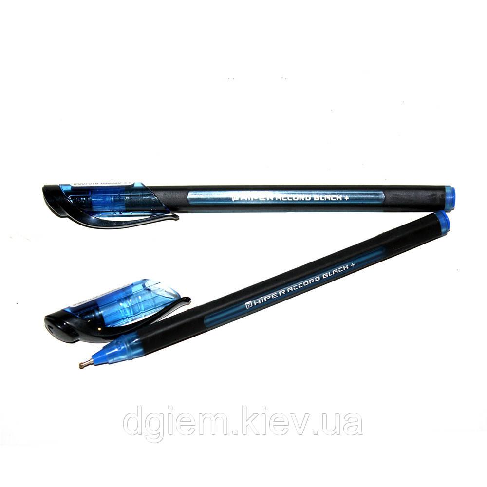 Ручка масляна Hiper Accord Black+ HO-550B