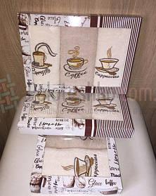 Подарочный набор кухонных полотенец Coffee