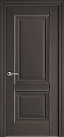 Двері Імідж глухі з молдингом Антрацит, 800