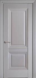 Двері Імідж глухі з молдингом Сіра Пастель, 700