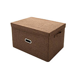 Кошик для іграшок MR 0339-4(Brown) (20шт) ящик, коробка, 51-36-34см, в кульку,51-36-4см