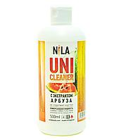 Универсальная жидкость Nila Uni-Cleaner без ацетона для очистки 500 мл. арбуз