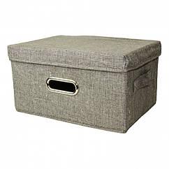 Кошик для іграшок MR 0339-4(Grey) (20шт) ящик, коробка, 51-36-34см, в кульку,51-36-4см