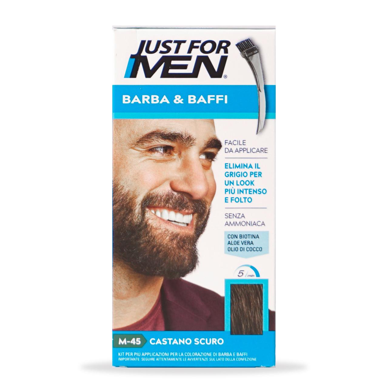 Фарба для вусів і бороди Just for Men М45 28мл