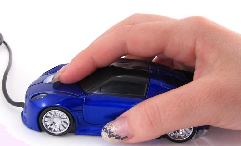 Мышка беспроводная машинка Mouse Car