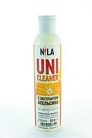 Универсальная жидкость Nila Uni-Cleaner без ацетона для очистки 250 мл. апельсин