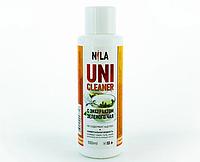 Универсальная жидкость Nila Uni-Cleaner без ацетона для очистки 250 мл. зеленый чай