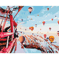 Картина за номерами Кулі зимової Каппадокії 40х50 Brushme (Без коробки) расскраска за номерами