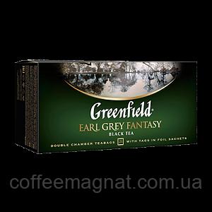 Чай Пакет Earl Grey Fantasy Greenfield 25 пакетиків по 2 гр.