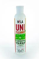 Универсальная жидкость Nila Uni-Cleaner без ацетона для очистки 250 мл. лайм