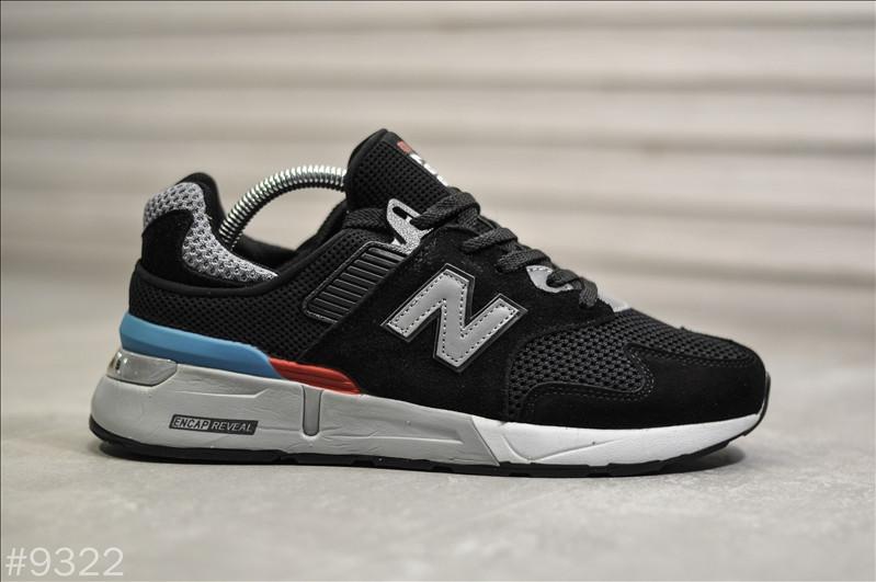 Мужские кроссовки New Balance 997S Черные, Реплика