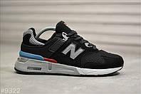 Мужские кроссовки New Balance 997S Черные, Реплика, фото 1