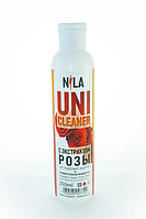 Универсальная жидкость Nila Uni-Cleaner без ацетона для очистки 250 мл. роза