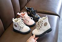 Детские ботинки для девочки демисезонные DAI-W-SMR, размер 22