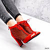 Ботильйони жіночі Tad червоні 3203, фото 2